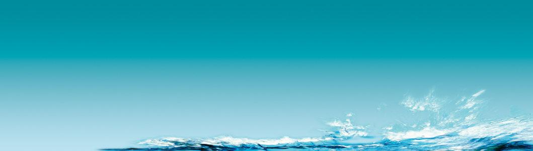 护肤品海平面水背景banner