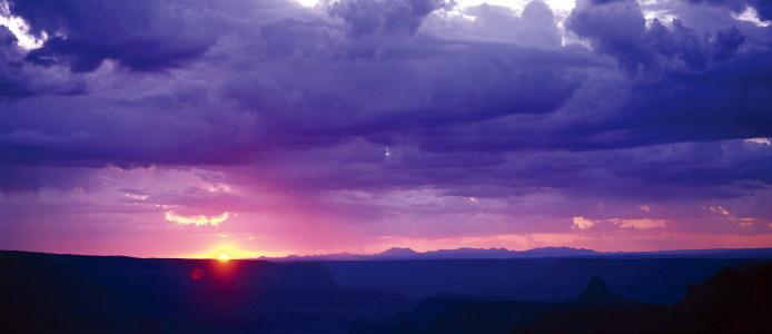 大气晚霞天空背景