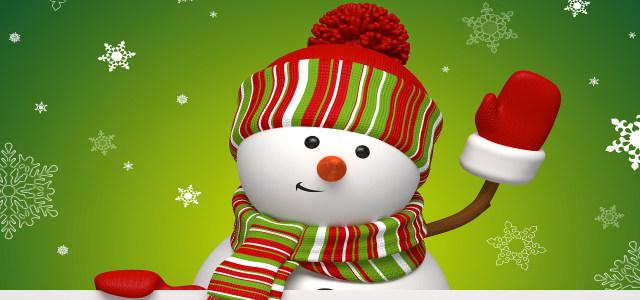 雪人背景高清背景图片素材下载