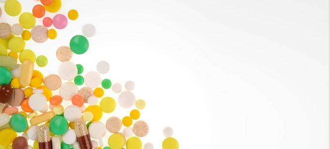 创意药品海报背景