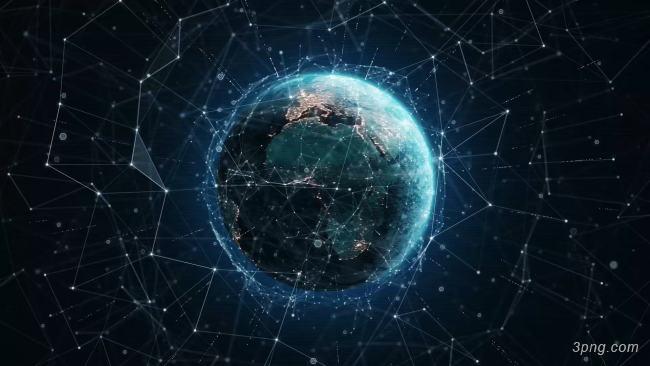科技感地球背景背景高清大图-地球背景底纹/肌理