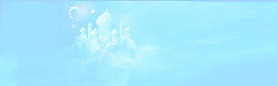 冰块城堡唯美背景banner