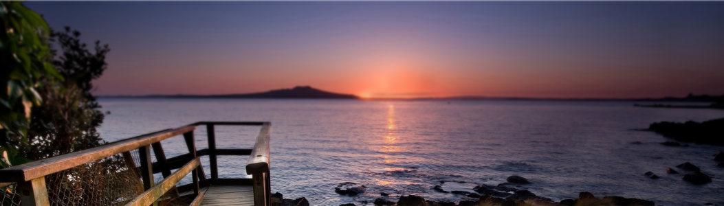 夕阳西下背景