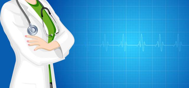 蓝色医生医疗背景高清背景图片素材下载
