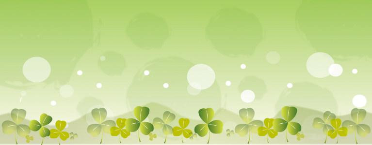精美花卉植物banner背景