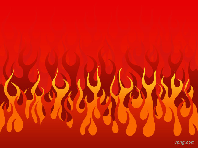 燃烧的火焰卡通背景背景高清大图-火焰背景卡通/手绘/水彩
