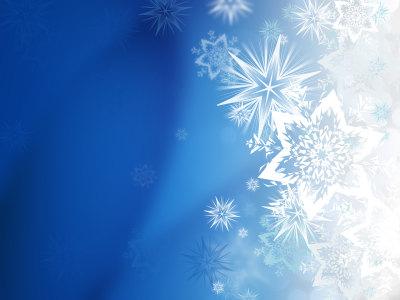 冬天雪花背景