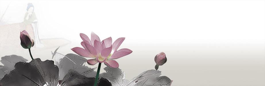 中国风磨砂水墨画banner背景高清背景图片素材下载