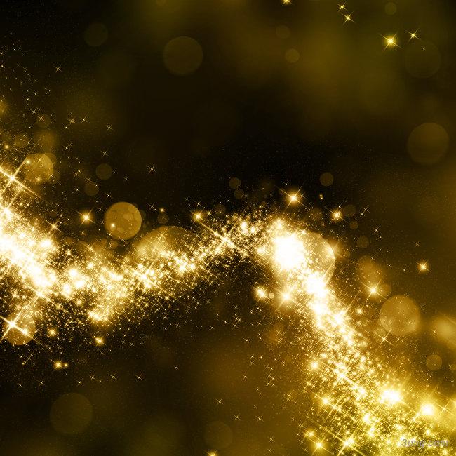 金光闪闪背景背景高清大图-金光闪闪背景高光/光斑/星空
