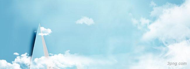 天空图背景高清大图-天空背景城市建筑