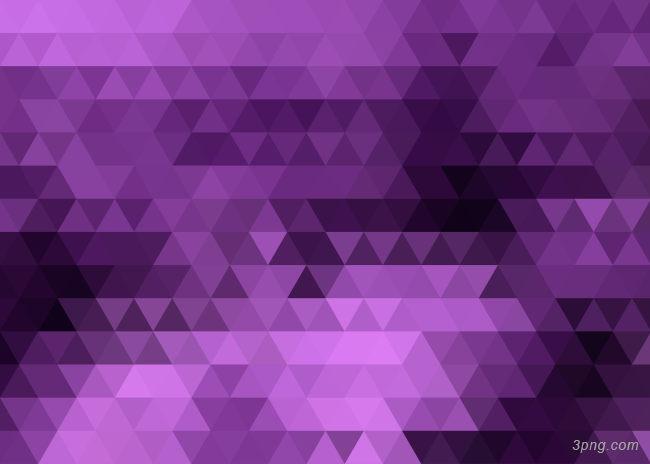 紫色三角形背景背景高清大图-三角形背景其他图片