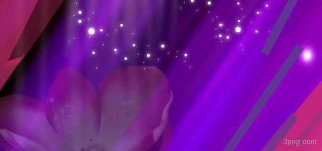 紫色花朵背景背景高清大图-花朵背景节日/喜庆