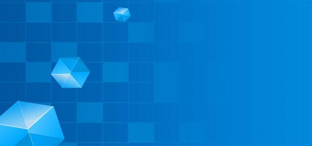 梦幻科技蓝背景