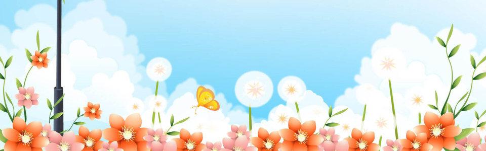 唯美花季高清背景图片素材下载