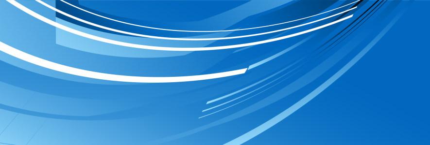 蓝色商务背景