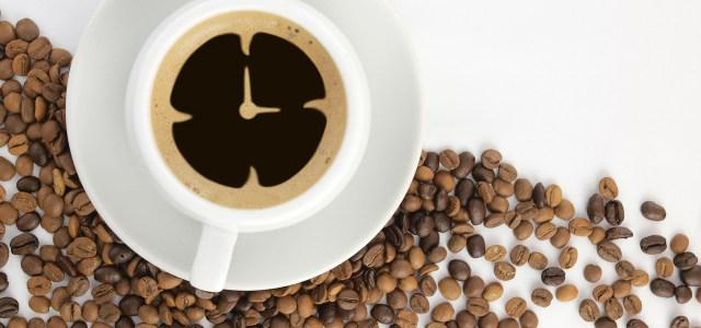 花式咖啡背景