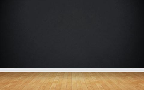 黑色墙面木板场景背景