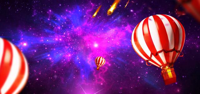 星空海报设计高清背景图片素材下载