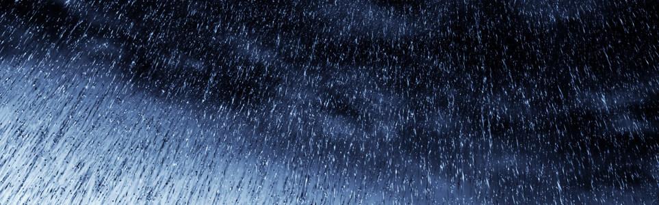 漫天雨滴banner设计