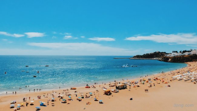 沙滩高清背景背景高清大图-高清背景自然/风光
