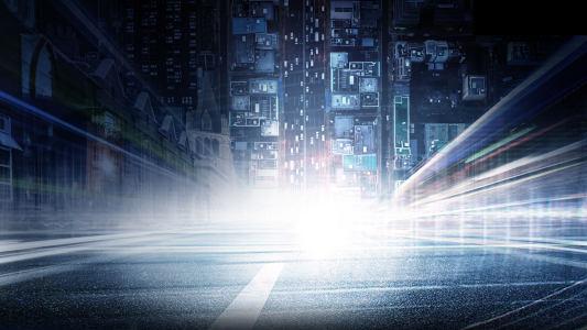 科技城市背景