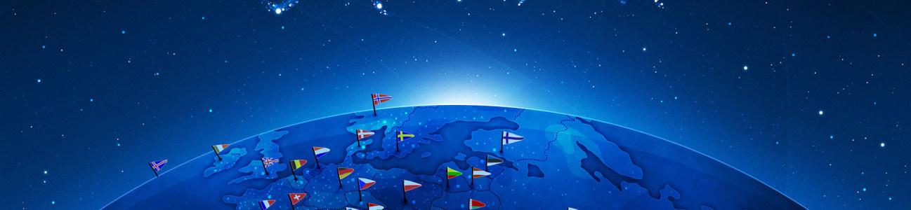 地球绝美banner创意设计高清背景图片素材下载