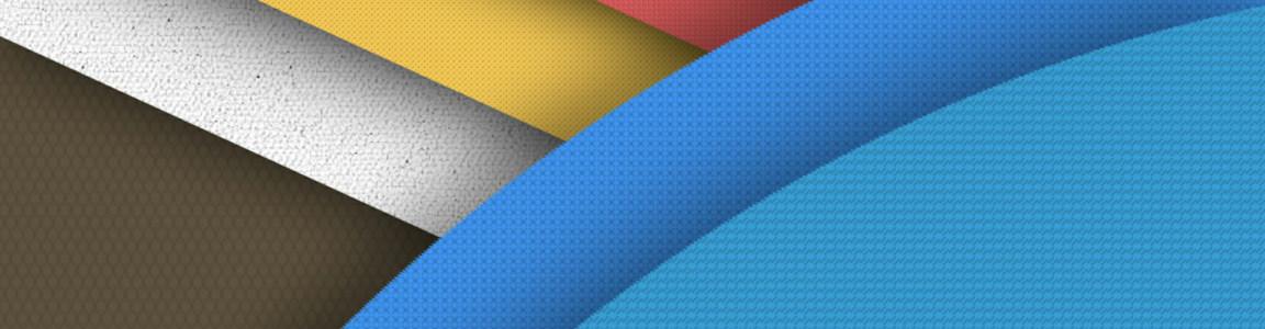 炫彩个性多边形背景banner