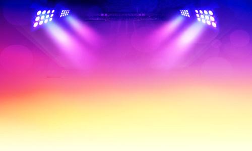 紫色舞台射灯背景高清背景图片素材下载