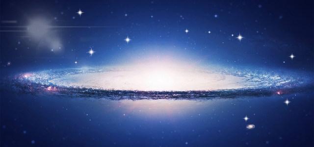 宇宙星海漩涡背景banner高清背景图片素材下载