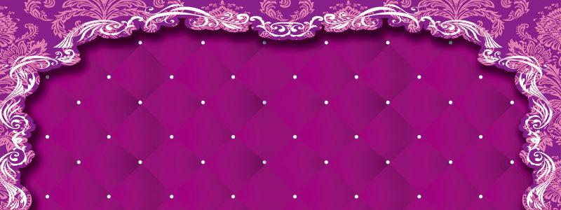 唯美紫色背景图