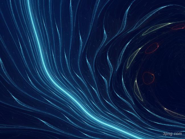 蓝色抽象水下背景背景高清大图-水下背景底纹/肌理