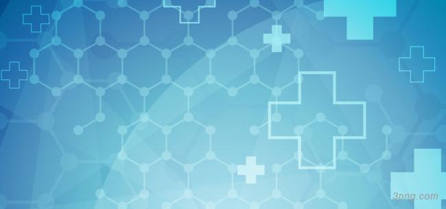 蓝色医疗几何图形背景背景高清大图-几何图形背景扁平/渐变/几何
