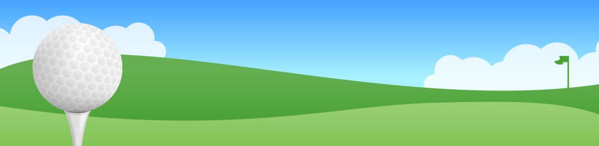 高尔夫球场banner背景高清背景图片素材下载