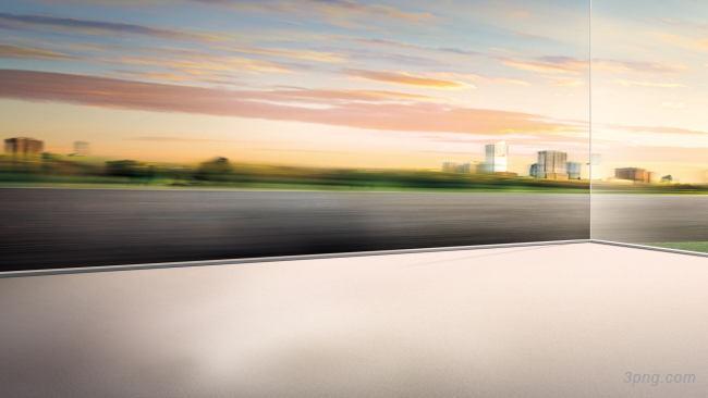 大气动感道路背景背景高清大图-大气背景特效图片