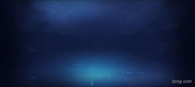蓝色科技场景背景背景高清大图-场景背景科技/商务
