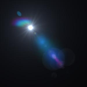 星光光晕光效光芒背景