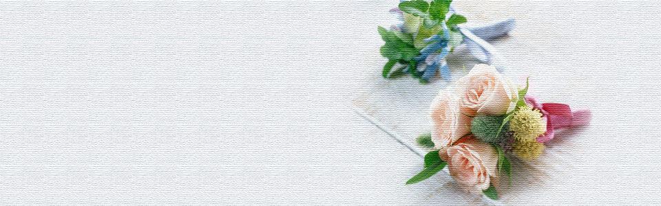 唯美浪漫质感花朵海报背景