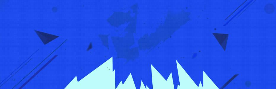 互联网电商蓝色banner背景