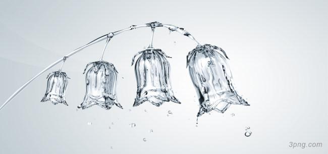 创意水晶灯笼花背景背景高清大图-创意背景自然/风光