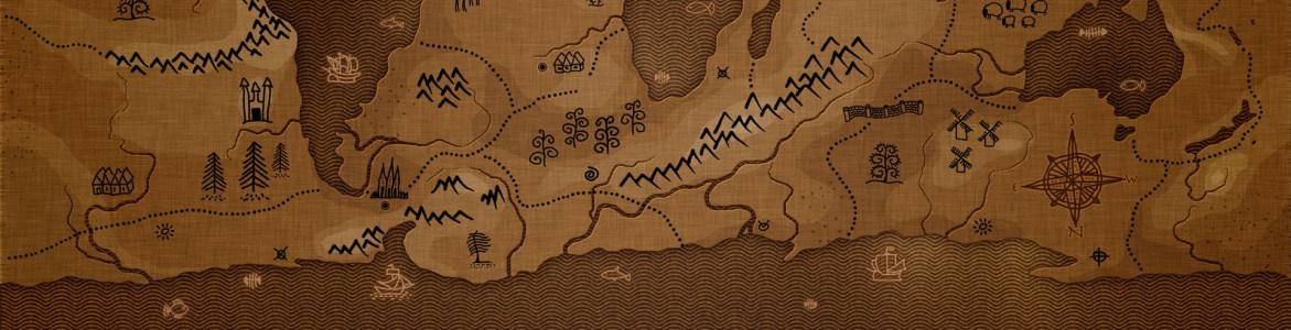 地图banner创意设计