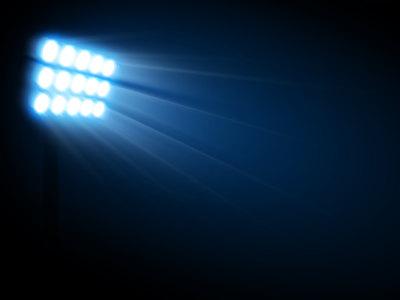 体育场灯光背景高清背景图片素材下载