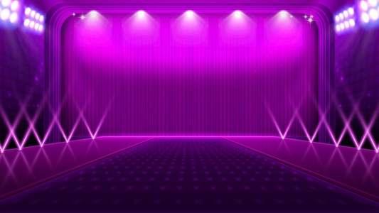 紫色场景舞台背景高清背景图片素材下载