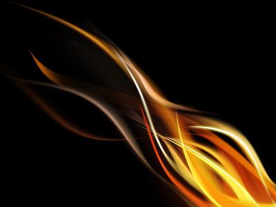 抽象火焰背景