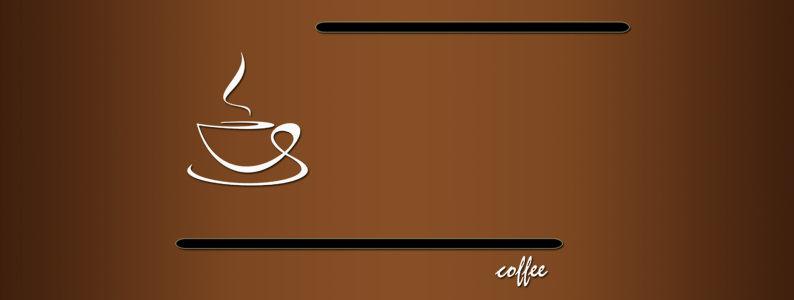 简约咖啡背景