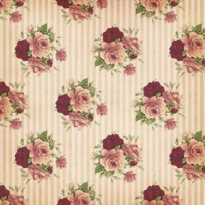 经典复古玫瑰花墙纸背景高清背景图片素材下载