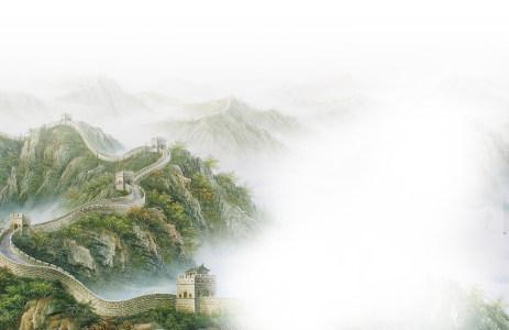 长城高清背景图片素材下载