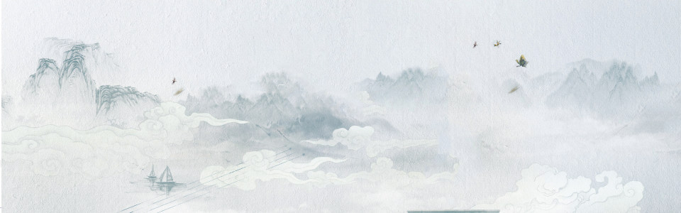 中国画专用创意banner设计