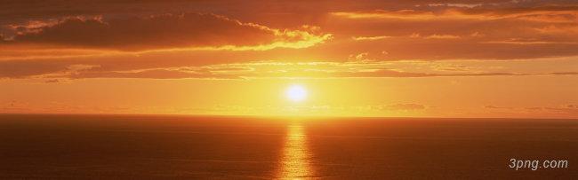 夕阳黄昏景色背景高清大图-景色背景淡雅/清新/唯美