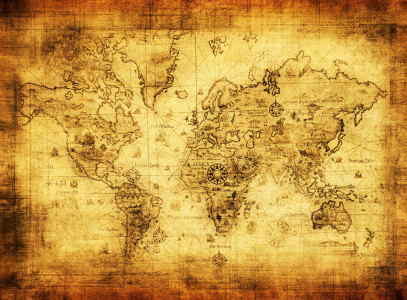 古老地图高清背景图片素材下载
