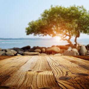 木板台面场景背景